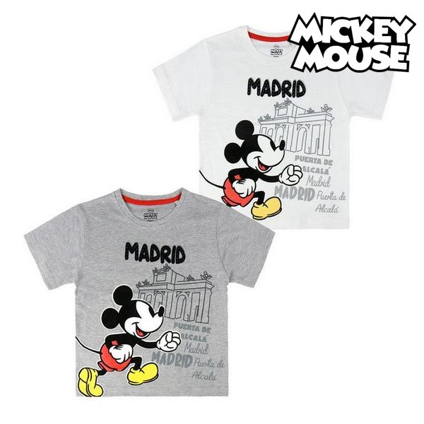 Child's Short Sleeve T Shirt Madrid Mickey Mouse 73489|  - title=