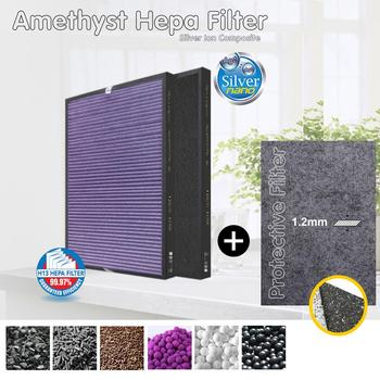 Sanyo ABC-VW24, ABC-FAH94 Air Purifier Compatible Multifunctional Combined Filter And Silver Ion Protective image