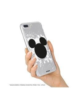 Funda para iPhone X Oficial de Disney Mickey Siluetas Salpicadura - Clásicos Disney