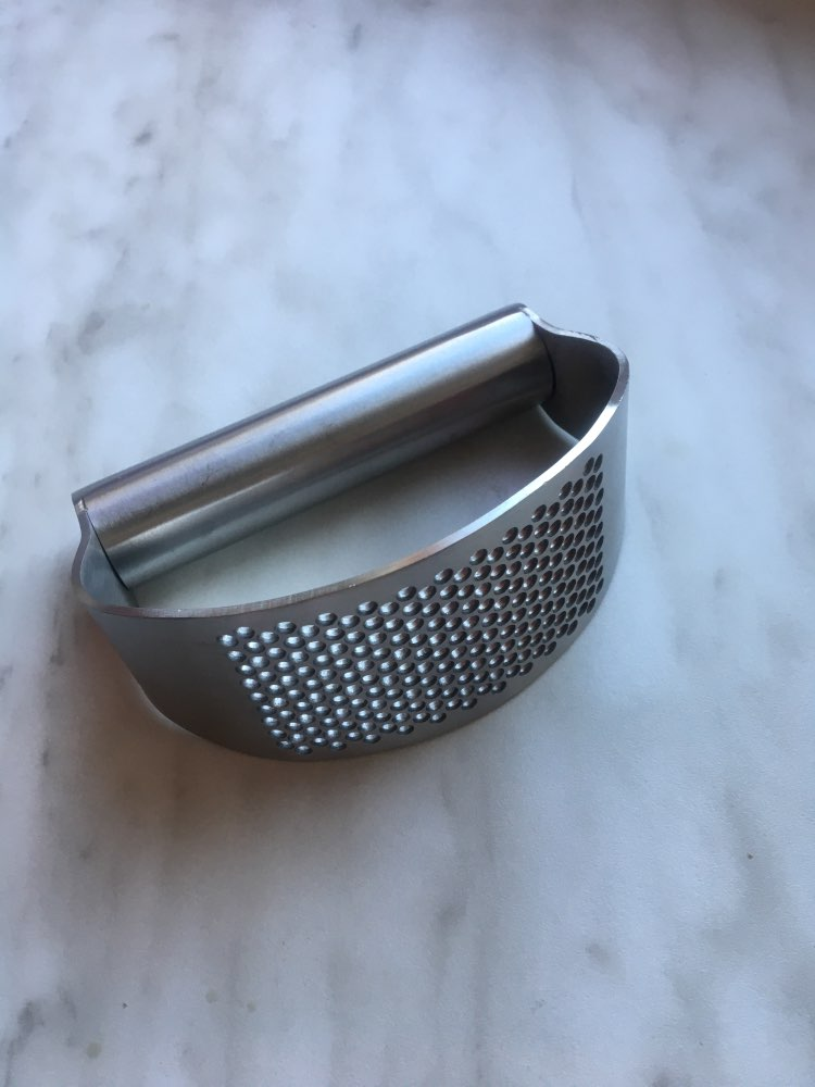 ????Pre-Christmas Promotion????Stainless Steel Garlic Press photo review