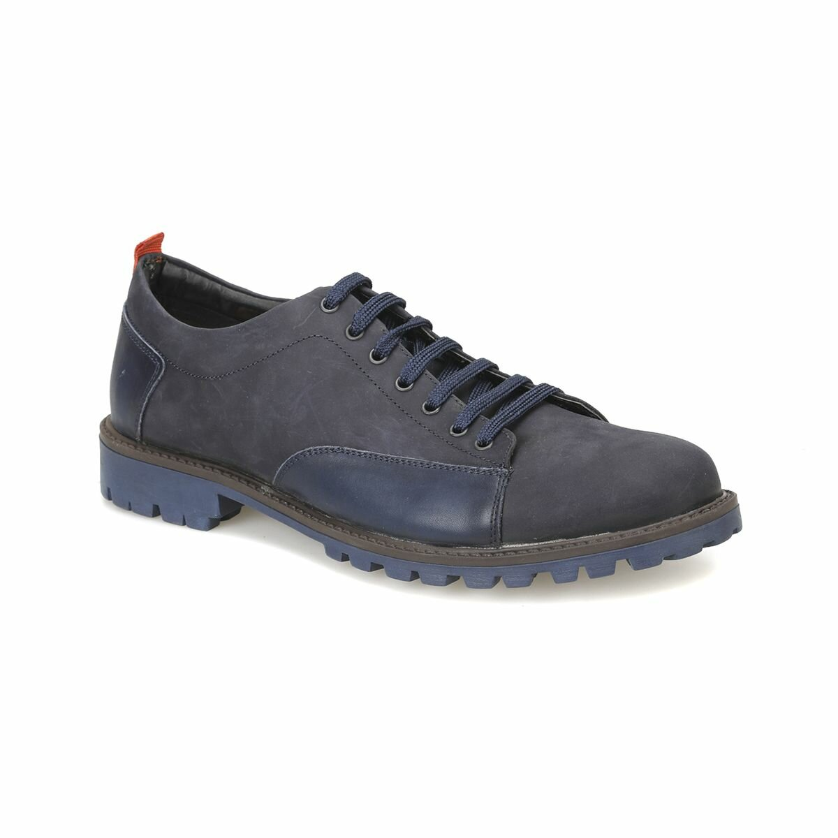 FLO 912 Navy Blue Men 'S Shoes Forester