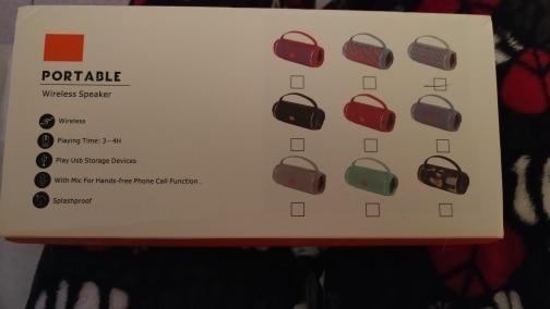 TG Altavoz Bluetooth TG117. Portátil Manos Libres 5W