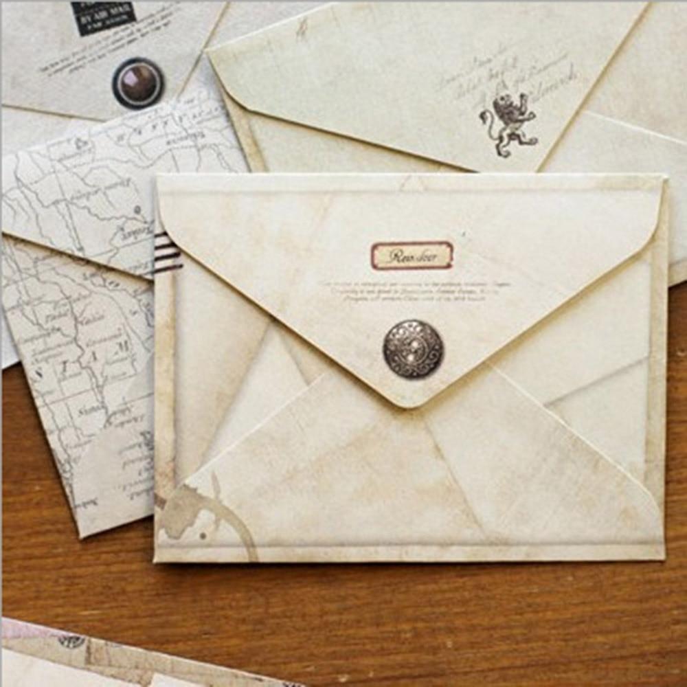 12 Pcs/lot Mini Cute Mailer Paper Envelope Retro Envelop Vintage European Style Gift Stationery For Letter