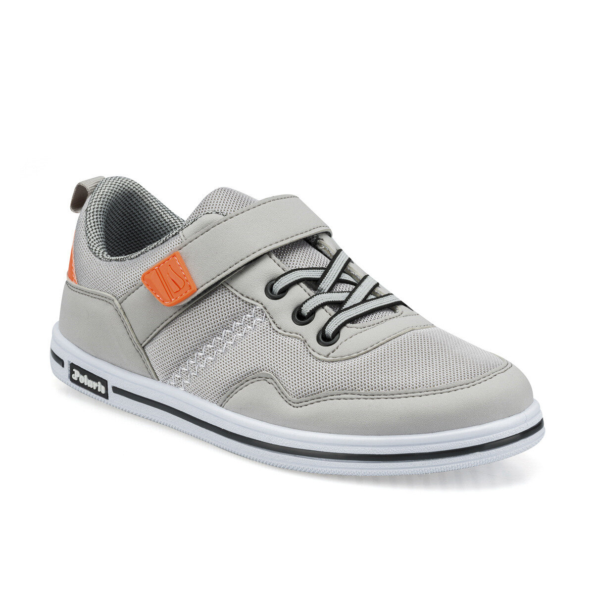FLO 512532.G Gray Male Child Sneaker Shoes Polaris