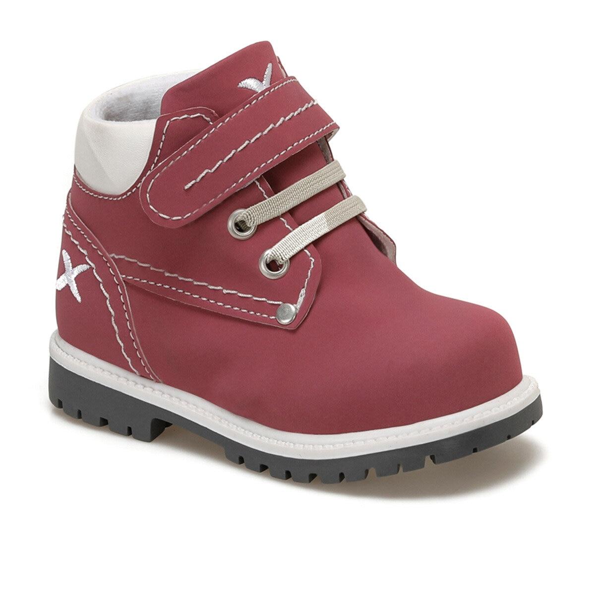 FLO MOIRA 9PR Fuchsia Girls Children Boots KINETIX