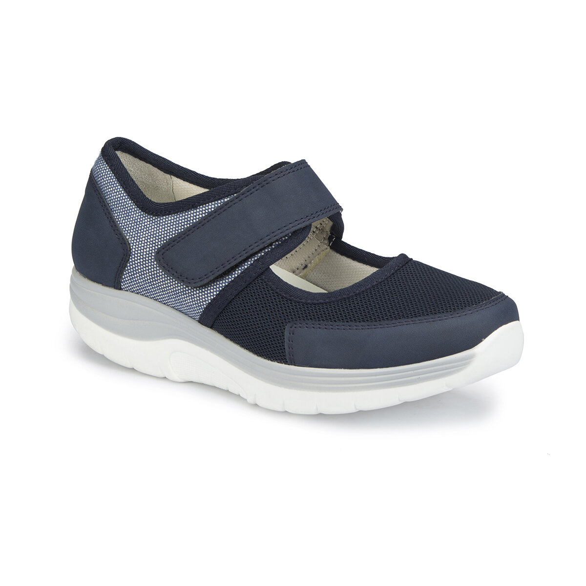 FLO 81.111297.Z Navy Blue Women Basic Comfort Polaris