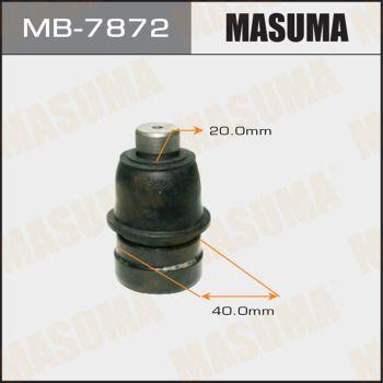 Опора шаровая нижняя Mitsubishi Outlander 2.0/2.4 02 MASUMA MB78