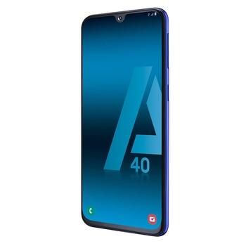 Перейти на Алиэкспресс и купить Samsung Galaxy A40, цвет синий (синий), две sim-карты, внутренние 6 4 Гб памяти, 4 Гб оперативной памяти, экран 5,9 дюймFHD +, камера D