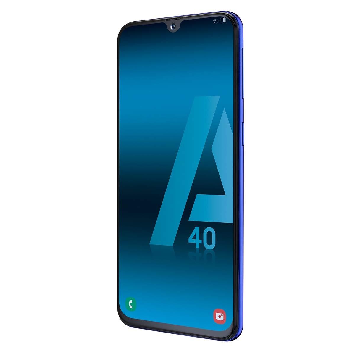 Samsung Galaxy A40, Color Blue (Blue), Dual SIM, Internal 6 4GB De Memoria, 4GB Ram, Screen 5.9