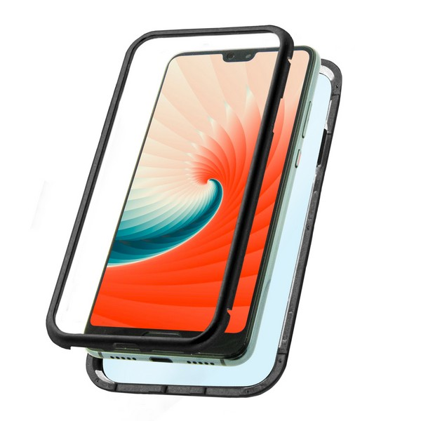 Mobile Cover Huawei P20 Pro KSIX Magnetic (2 Pcs)