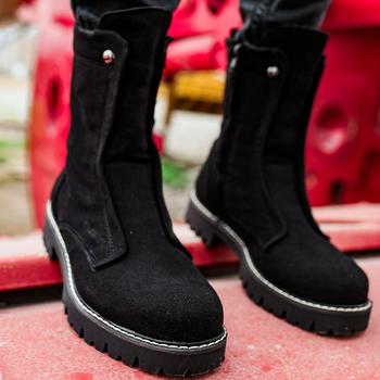 Chekich buty na buty męskie męskie buty zimowe moda śnieg buty Plus rozmiar zimowe trampki kostki mężczyźni buty zimowe buty obuwie mężczyźni podstawowe buty buty mężczyźni 2021 zimowe buty dla mężczyzn Zapatos Hombre CH027 V5 tanie i dobre opinie TR (pochodzenie) Mieszane kolory Dla osób dorosłych Sztuczna skóra okrągły nosek Na wiosnę jesień Med (3 cm-5 cm)