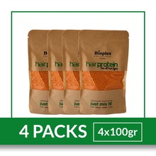 Bioplex Hair Protein Treatment- (4 Packs) - For Ombre Balayage Highlights Hair Color  and Hair Treatment 100 gr- FREE SHIPPING