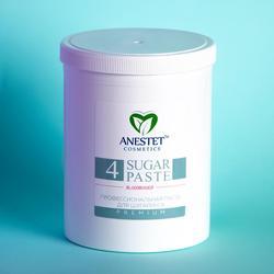 Pasta de azúcar para azúcar ANESTET, N4 1500 gr. Depilación, depiladora facial, depilación, utensilio para eliminar el vello facial, depilación