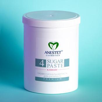 Sugar Paste For Sugaring ANESTET, N4 1500 Gr. Hair Removal, Depiladora Facial, Depilacion, Facial Hair Remover, Epilation Waxing