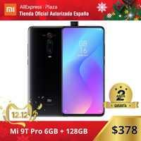 Xiaomi Mi 9T PRO (128GB ROM con 6GB RAM, Triple cámara de 48 MP con IA, Android, Nuevo, Móvil) [Teléfono Móvil Versión Global para España] mi9tpro