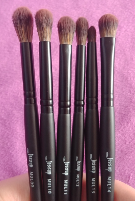 Jessup New Arrival Makeup brushes brushes Phantom Black 3-21pcs Foundation brush Powder Concealer Eyeshadow Synthetic hair reviews №3 177775