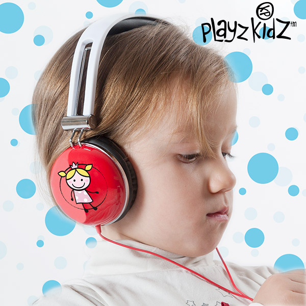 Playz Kidz Magic Fairy Headphones
