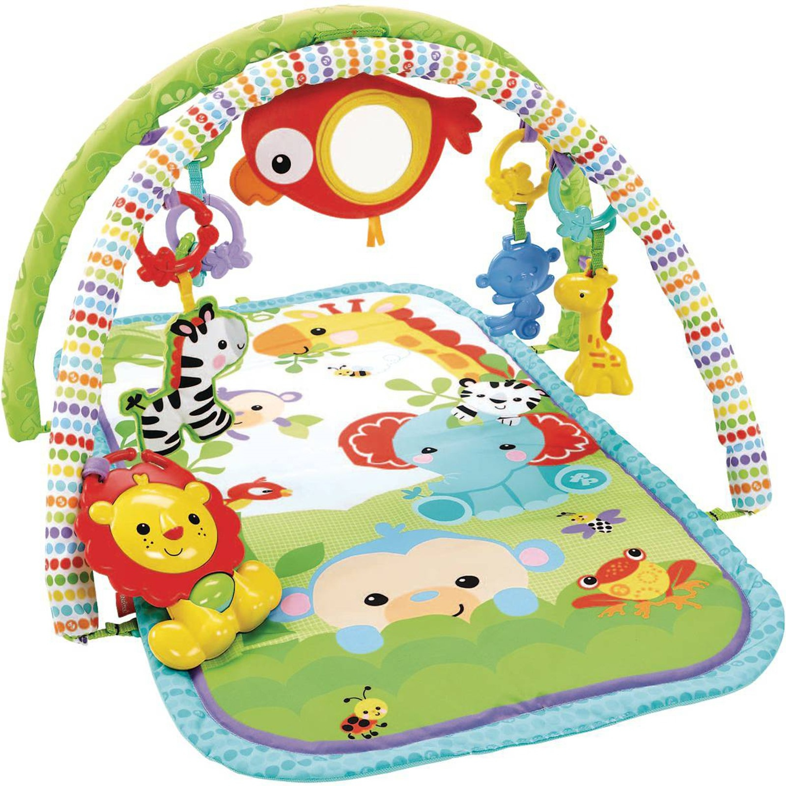 Ebebek Fisher Price Rainforest Friends 3-in-1 Musical Activity Gym