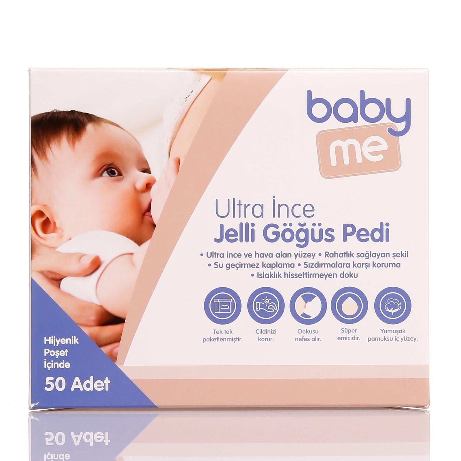 Ebebek Baby&me Jel Breast Pads 50 Pcs