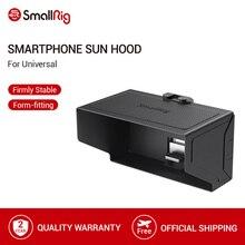 SmallRig Smartphone Sun Hood (Piccolo) del Telefono Mobile Sun Shield Cappuccio Monitor Della Macchina Fotografica Dello Schermo LCD Hood Per il Supporto Video Rig   2689