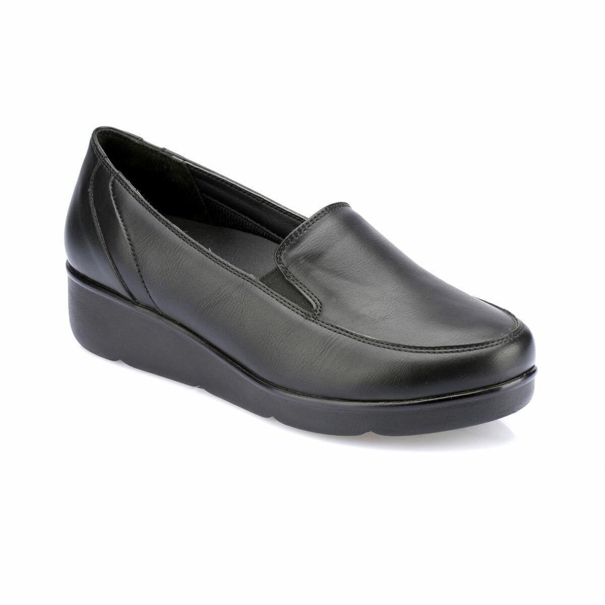 FLO 82.100110.Z Black Women Shoes Polaris 5 Point