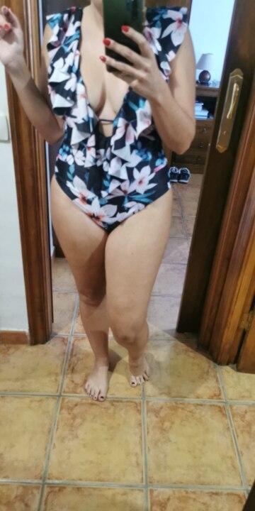 2021 Sexy Deep V One Piece Swimsuit Female Women Vintage Retro Bathing Suit Shoulder Ruffle Swimwear Backless Monokini|Body Suits|   - AliExpress
