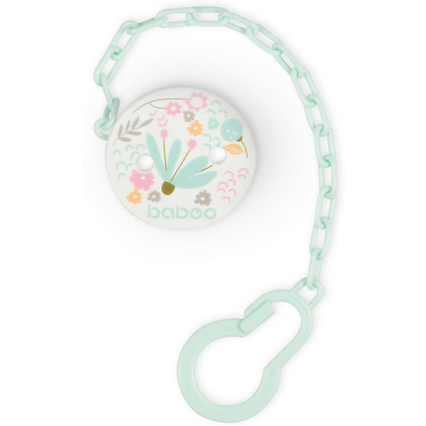 Clip Holder Pacifier Baboo Flora
