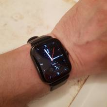 The clock arrived in a month, which is very fast. The watch itself is really good, and on