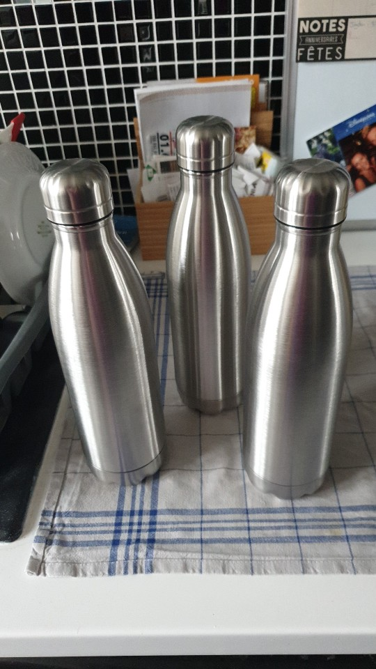 1000ml Stainless Steel Water Bottle Gym Sports Insulated Vacuum Flask Single Wall Cold Water Bottle 350/500/750ml bouteille inox|Water Bottles| |  - AliExpress