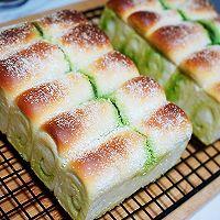抹茶金砖吐司面包的做法图解10
