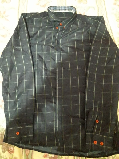 2020 Men's Plaid Print Long Sleeve Formal Shirt Turn-down Collar Male Business Dress Fashion Tops Shirts