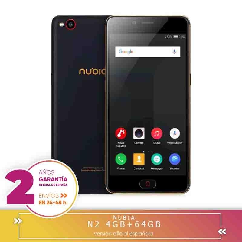 -Carré Garantie-Nubia N2 Smartphone Nubia NX575J Smartphone (14 cm (5,5