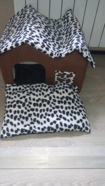 Indoor Dog House Bed   Dog House Bed   Soft Dog House photo review
