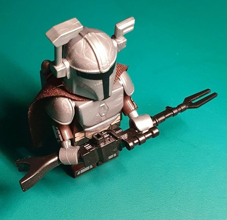 Koruit Mandaloria Movie Series Weapons For 4cm Mini Dolls Vizla Darksaber Blaster MOC Building Blocks Brick Toys For Children photo review