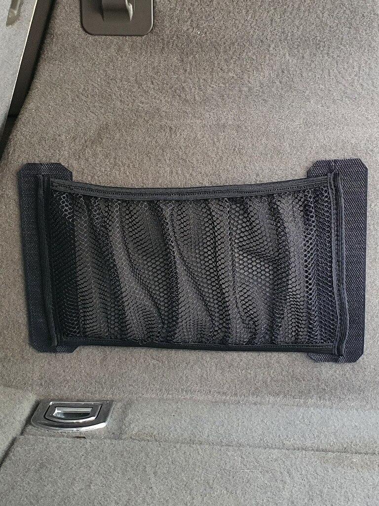 Сетка-карман в багажник на липучке, автомобильный органайзер Mobylos 30436/37