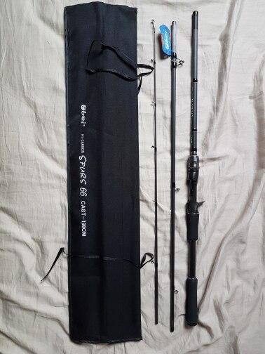 Canne à pêche 3 sections
