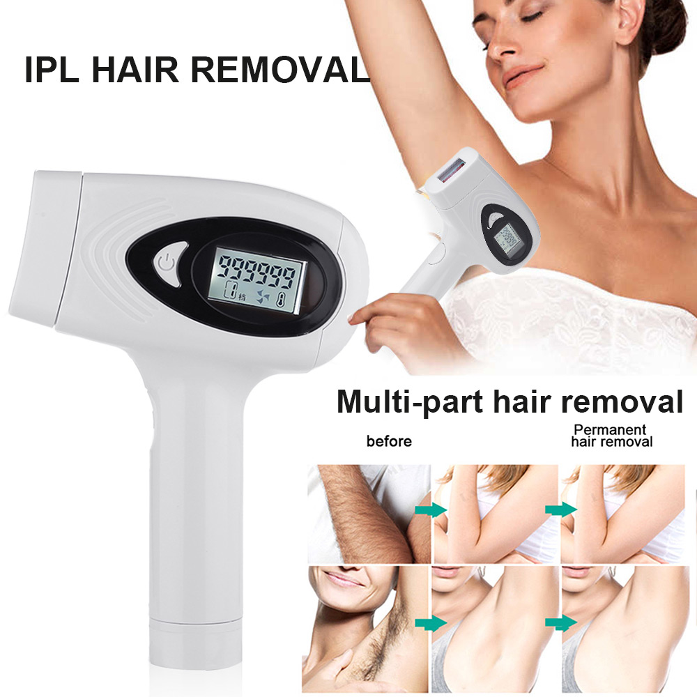 IPL Hair Removal Machine With Lamp Laser Epilator Hair Removal Device Permanent Bikini Trimmer Depilador A Laser 999999 Flash