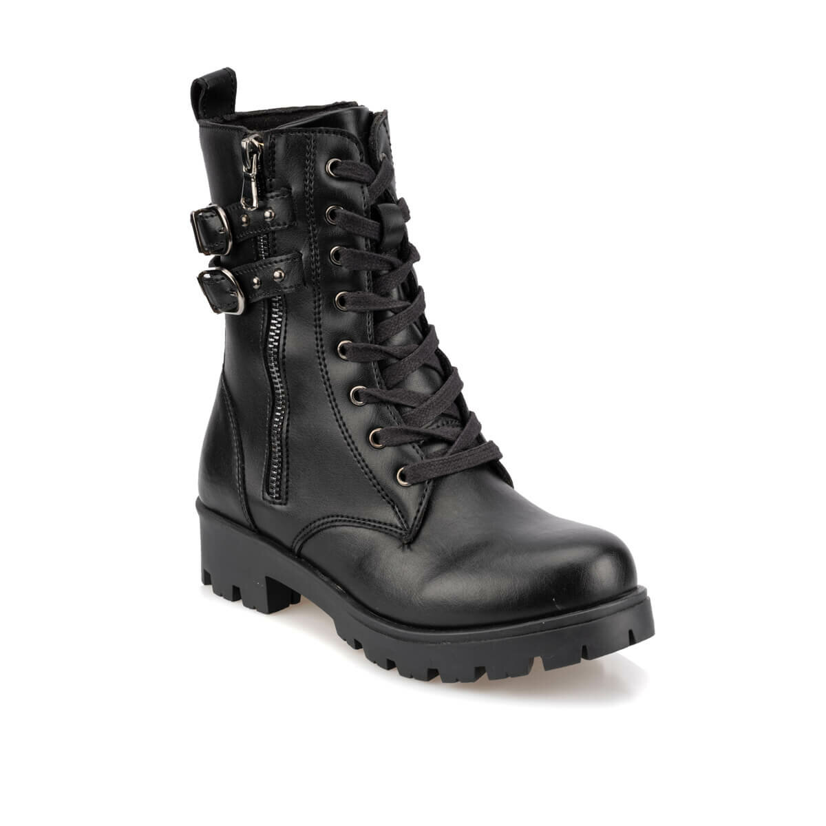 FLO 92.509677.F Black Female Child Boots Polaris