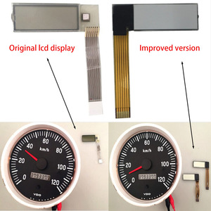 Image 2 - 켄 월스 트럭 용 VDO 타코미터 LCD 디스플레이 Jcb 볼보 펜타 보트 Yanmar Marine hour meter Display
