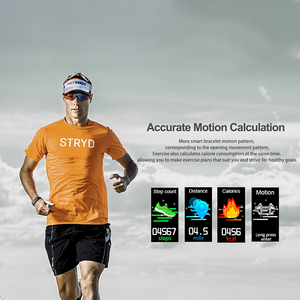 Image 4 - 2020 Body Temperature Smart Bracelet IP68 Waterproof Heart Rate Monitor Smartband Fitness Health Tracker Wristband Band Sports