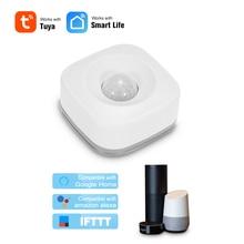 Беспроводной инфракрасный датчик движения, Wi-Fi Инфракрасный датчик для умного дома, охранная сигнализация, совместим с Alexa, для Google Home/IFTTT
