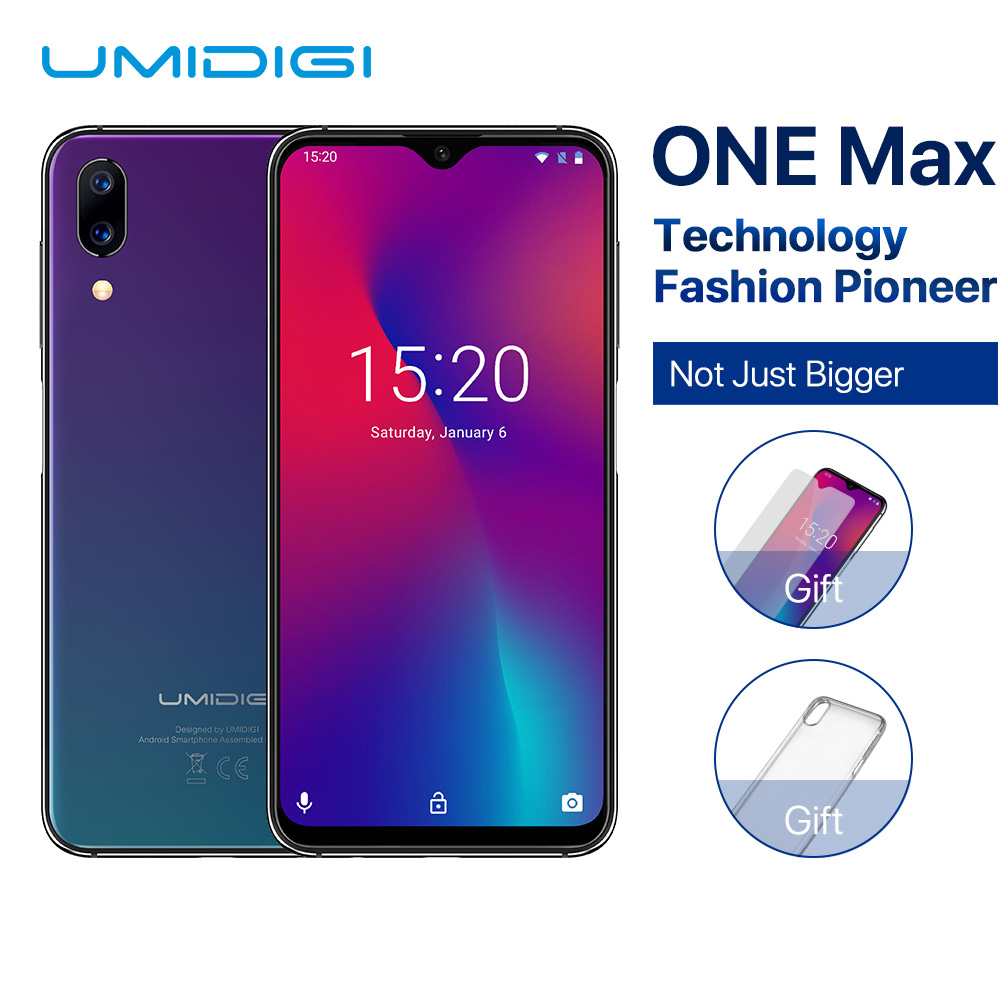 UMIDIGI 128GB 4GB NFC Octa Core Fingerprint Recognition 16MP New Smartphone Face-Id P23 title=