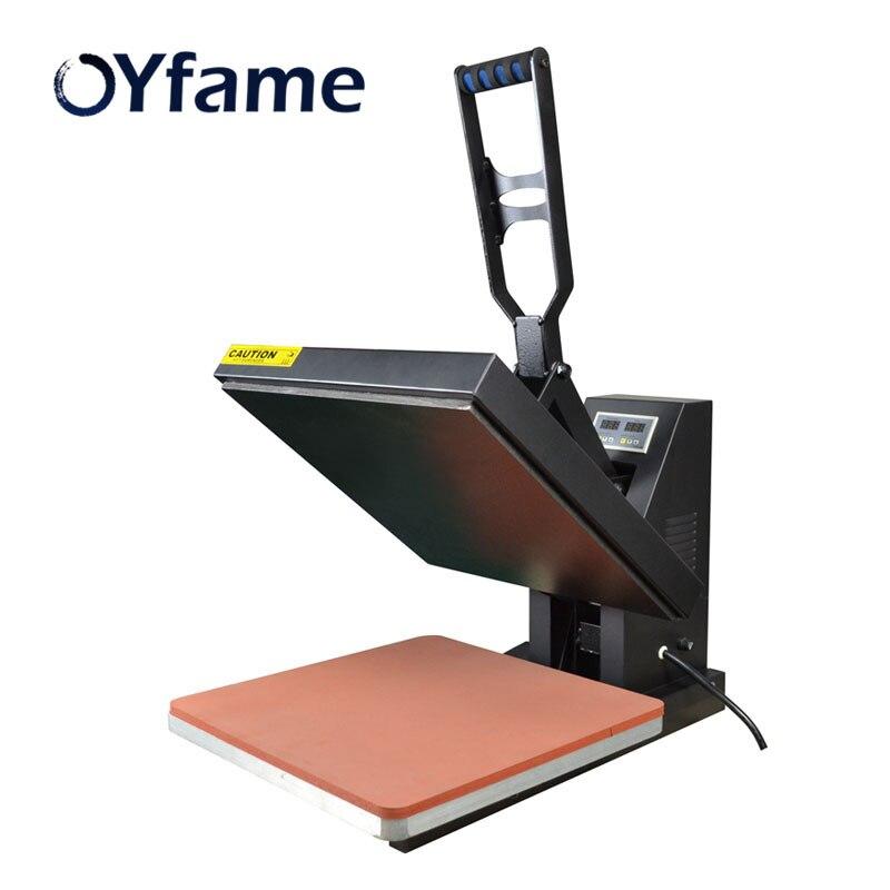OYfame Dtg t-shirt machine d'impression multi-funcional t-shirt tapis de souris sublimation chaleur presse imprimante 38*38 avec haute qualité