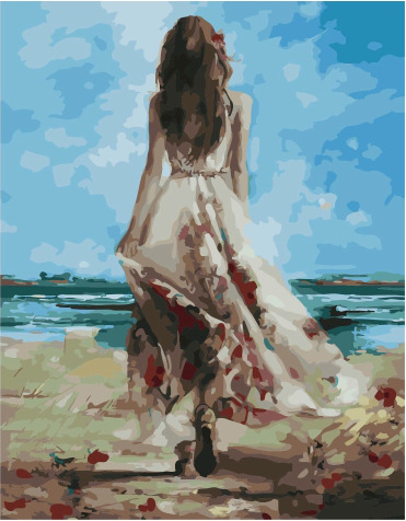 Painting By Numbers PK 49032 Sea Breeze 40*50