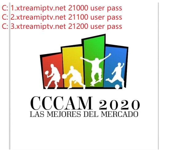 Cccam Para España Portugal Europa Sin Corte Para Astra Servidor Local Hotbird Satelite Descodificad H 265 H 264 4 6 Lines