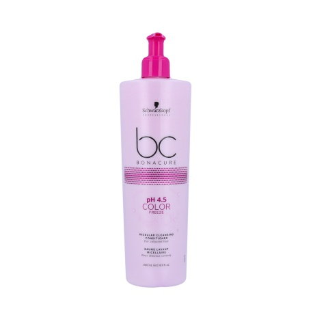 SCHWARZKOPF BC COLOR FREEZE PH 4 MAY MICELLAR CLEANSING CONDITIONER 500ML