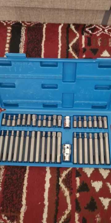 40 шт. 1/2 ''3/8'' адаптер привода шестигранный хвостовик Torx XZN Spline Star Impact Socket Set Metric Socket Set Ratchet Driver Socket Wrench