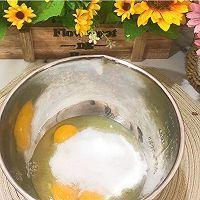 8寸全蛋海绵蛋糕,木糖醇版的做法图解3