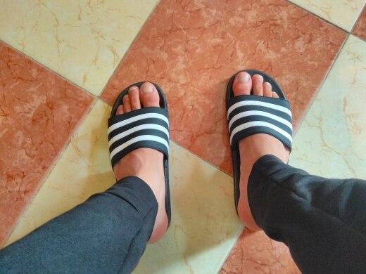 ASIFN Men's Slippers EVA Men Shoes Women Couple Flip Flops Soft Black and White Stripes Casual Summer Male Chaussures Femme|Slippers| |  - AliExpress
