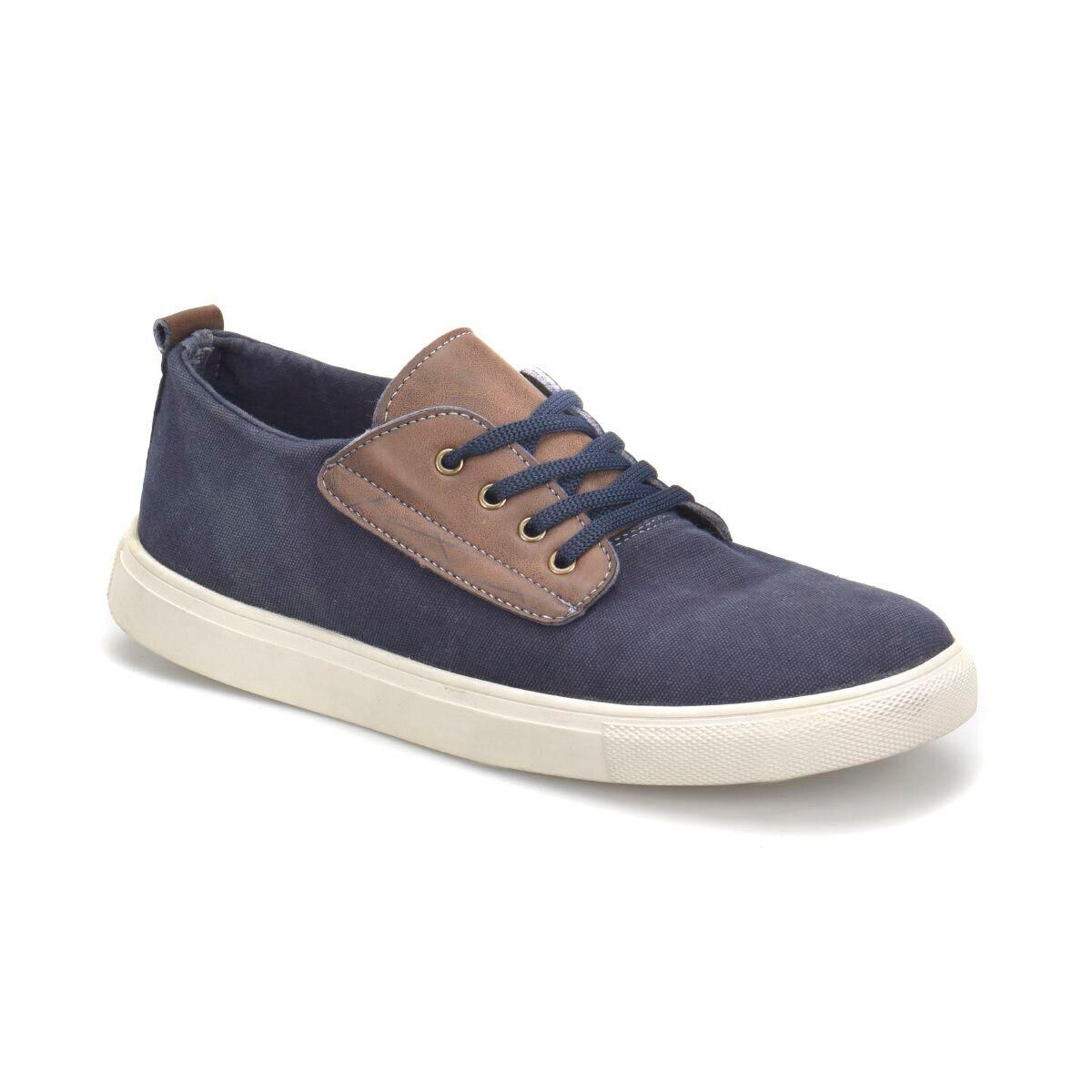 FLO 3514 Navy Blue Men 'S Shoes Panama Club